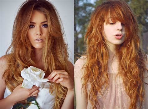 Pics Of Hair Color by Light Auburn Hair Colors For Cold Winter Time Hairdrome