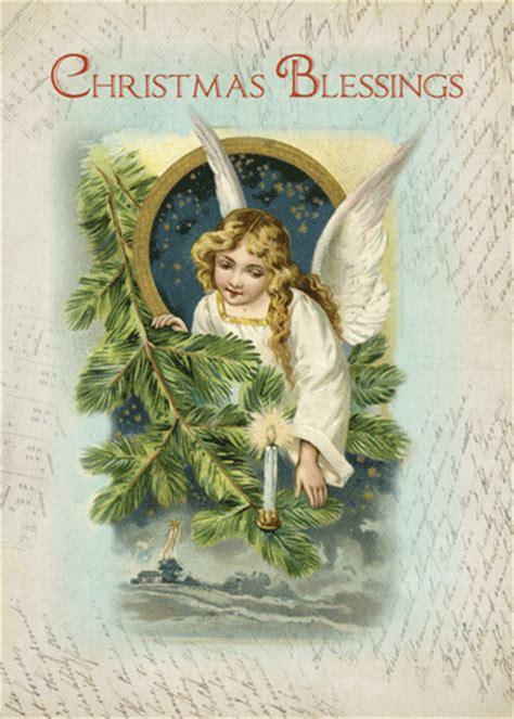 vintage religious angel blessings  angel ecards