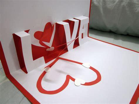 valentines day pop  cards  valentine card