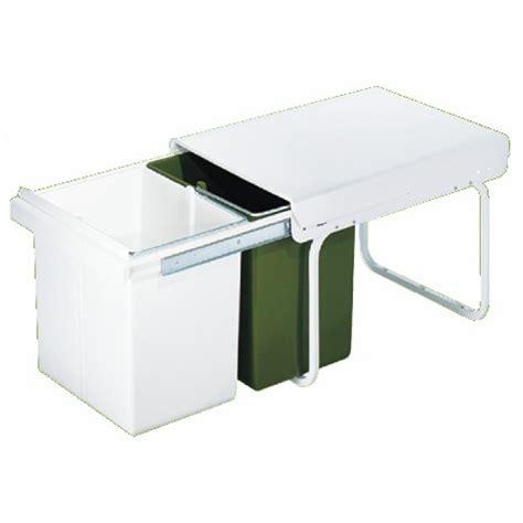 poubelle cuisine sous evier poubelles coulissantes sous évier pour tri sélectif 2