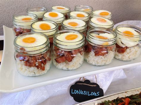 genius layered longsilog filipino food