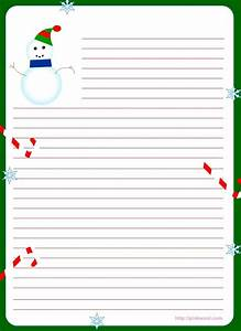 42 best christmas letter printables images on pinterest With christmas letter writing paper