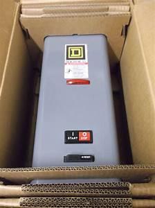Square D Combo W   Motor Starter Nema Size 0 Model