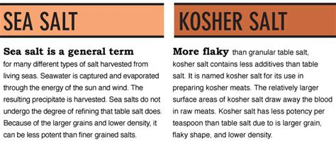 what is the difference between kosher salt and table salt i love cooking me page 5 forum dakkadakka