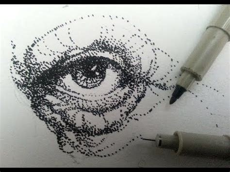 draw shade  stippling stipples  dots