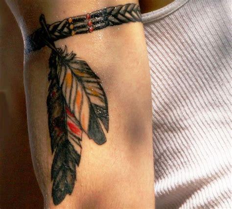 Tatuajes de plumas indias y su significado Tatuajes de