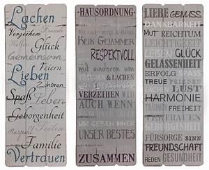 Sprüche Auf Holz : dekoschild spr che f r familien wandbilder aus holz wandschilder hausordnung spr che ~ Orissabook.com Haus und Dekorationen