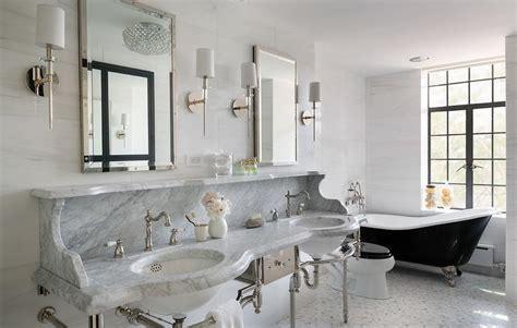 black vintage claw foot bathtub  wall mount tub filler