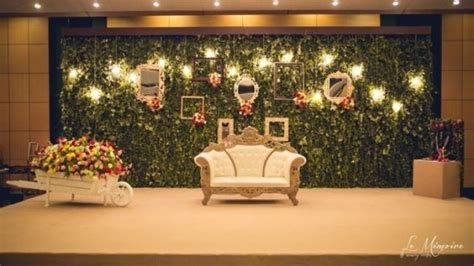 trending stage decoration ideas   wedding reception