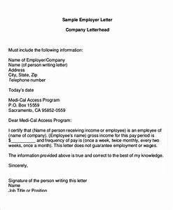 Proof Of Income Letter For Babysitter 20 Free Proof Of Income Letter Templates Word Pdf Samples