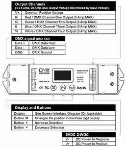 16 Bit Dmx 512 Cv Decoder For Led Dmx Controllers