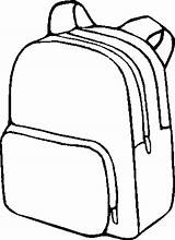 Backpack Coloring Clipartpanda Open Template Clipart Pack Terms Rucksack sketch template