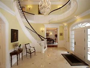 Beautiful Staircase inside a European Mansion in New ...
