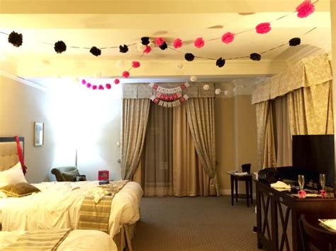 Our Hotel Room Decorated For Bachelorette Party! Picture