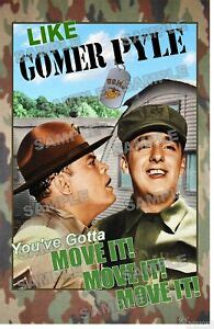 Gomer Pyle U.S.M.C.TV series Fan Made Poster print 11 X 17 | eBay