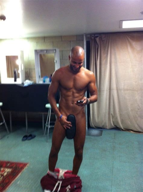 ricky whittle fit males shirtless and naked