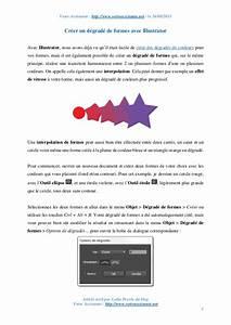 Faire Un Dégradé : cr er un d grad de formes avec illustrator ~ Melissatoandfro.com Idées de Décoration