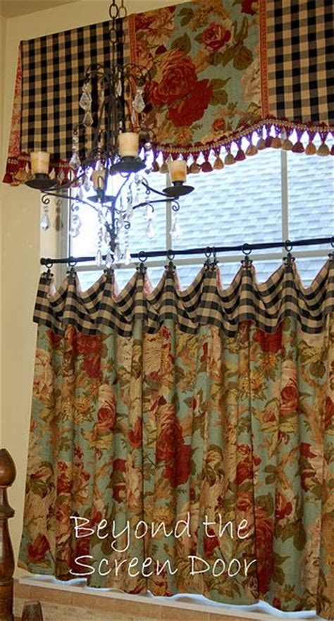 1000 ideas about kitchen window curtains on pinterest