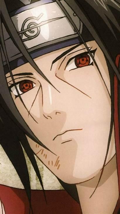 Itachi Uchiha Sharingan Iphone Aesthetic Naruto Anime