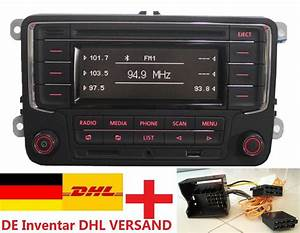 Vw Caddy Autoradio Wechseln : autoradio vw rcn210 mit bluetooth adapter caddy jetta ~ Kayakingforconservation.com Haus und Dekorationen
