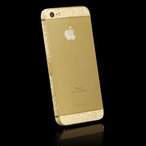 iphone 5 gold iphone 5 64gb white gold swarovski ex display goldgenie
