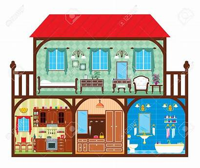 Clipart Rooms Living Cut Vector Clipground Cliparts