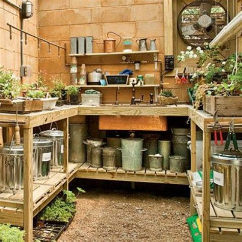 shed storage ideas 33 practical garden shed storage ideas digsdigs