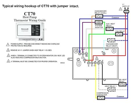 Honeywell Thermostat Wiring Diagram Wire Free