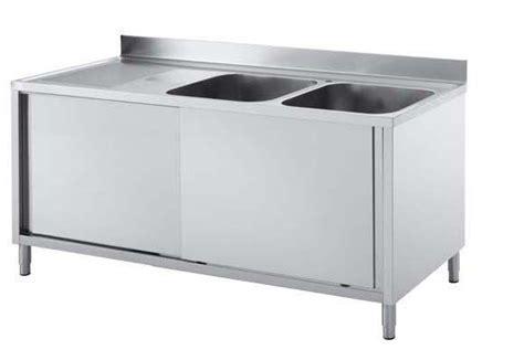 meuble cuisine inox professionnel bloc eviers pour plonge tous les fournisseurs evier