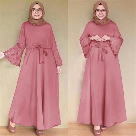 Berikut daftar model baju pesta muslim dress gaun hijab gamis kombinasi modern. Jual G- MAXI LARISSA Baju terusan wanita cewe dress ...