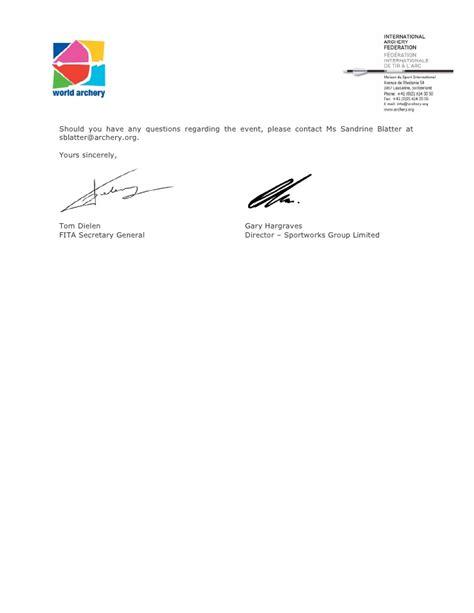 org seminar invitation letter