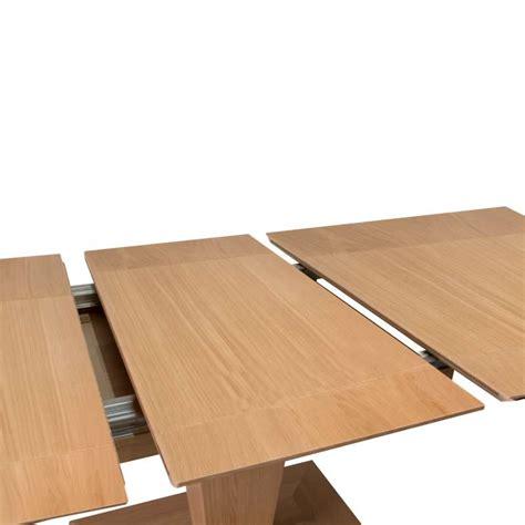 table carree extensible bois table carr 233 e moderne extensible en bois philae 4 pieds tables chaises et tabourets