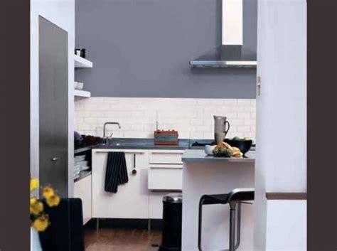 mur de cuisine cuisine noir quel couleur mur solutions pour la