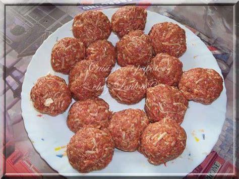 cuisiner des boulettes de viande recettes de boulettes de viande et fromage