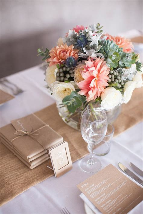 colourful centrepieces wedding sydney brides and maids