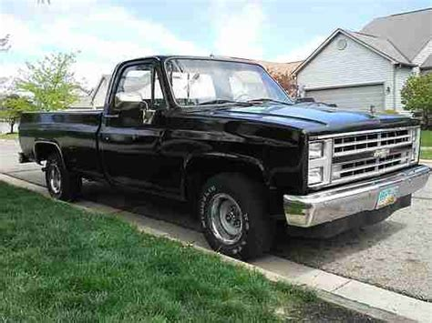 Sell Used 1986 Chevy C10 In Blacklick, Ohio, United States