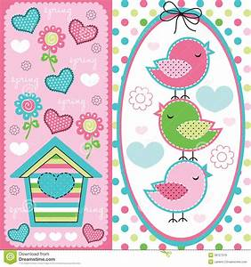 Cute Birds Vector Royalty Free Stock Photo Image 12921555 ...