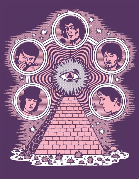 thirteenth floor elevators illustration by luke