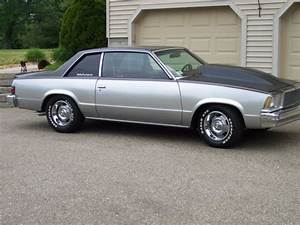 Chevrolet Malibu Coupe 1979 Silver  Charcoal For Sale