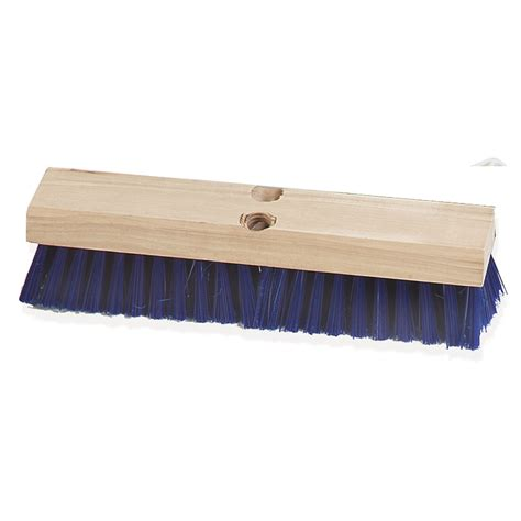 deck scrub brush with handle carlisle 3627514 12 quot deck scrub brush poly hardwood