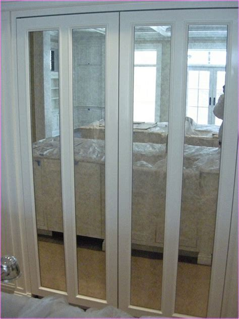 mirrored closet doors bifold hawk haven