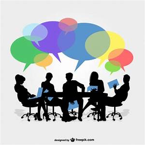 Group Discussion Vectors, Photos and PSD files | Free Download
