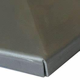 Edelstahl Vierkantrohr 80x80 : 5x pfostendeckel edelstahl 80x80 mm abdeckkappe zierkappe mit rand inox ebay ~ Eleganceandgraceweddings.com Haus und Dekorationen