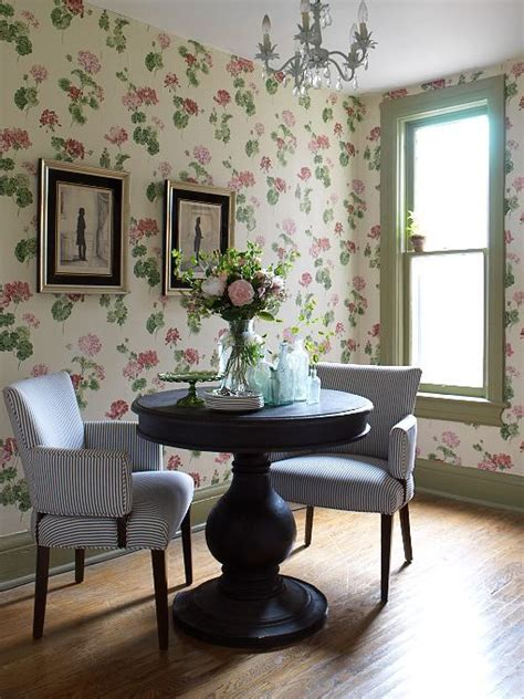 decorating  botanical wallpaper  beautiful ideas