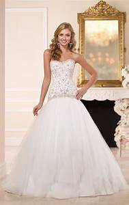 drop waist wedding dress wedding dresses stella york With drop waist wedding dresses