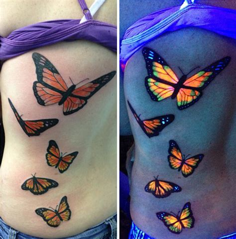 30 Glow-In-The-Dark Tattoos That'll Make You Turn Out The