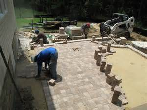 do it yourself patio ask the landscape