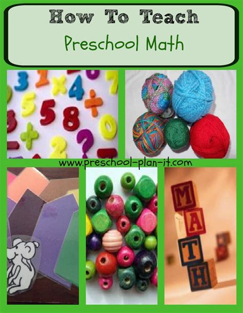 Teaching Preschool Math