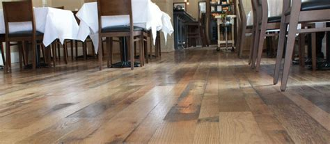 Wood Floors for Restaurants and Bars   Elmwood Reclaimed