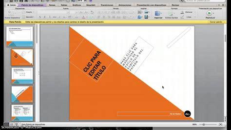 PowerPoint Modificar Patrón de Diapositivas YouTube